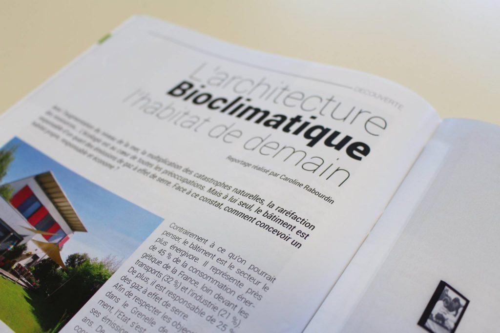 rédaction article magazine