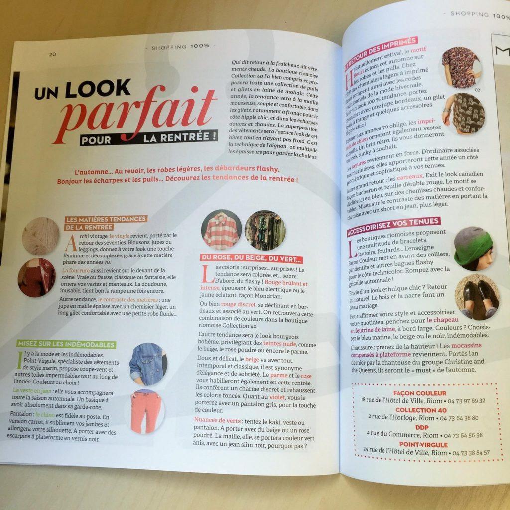 écriture magazine article publi-rédactionnel