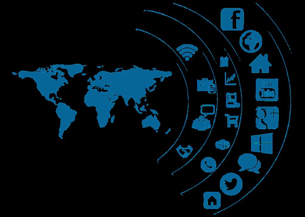 stratégie influence monde réseaux sociaux